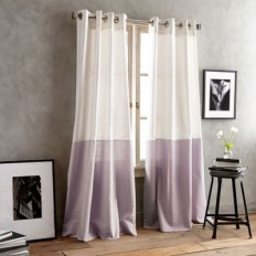 DKNY Color Band Grommet Top Window Curtain Panel - Bed Bath & Beyond