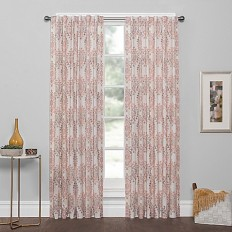 Vue® Genaro Rod Pocket/Back Tab Fashion Window Curtain Panel - Bed Bath & Beyond
