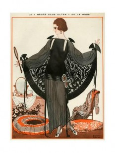 1920s France La Vie Parisienne Magazine Plate Giclee Print at Art.com