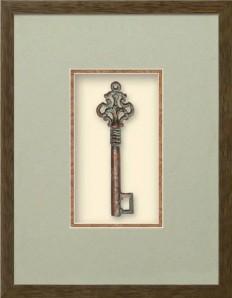 Renaissance Key Collection - Castle Tower Dimensional Product at Art.com