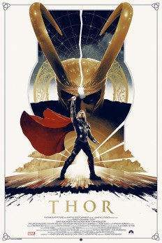 Thor Poster Design on Inspirationde