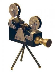 Home Accessories 'Olivier Vintage Camera Sculpture' - Workspace ART
