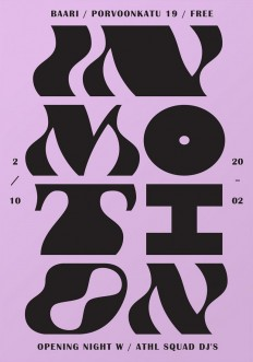 In Motion, poster designed by Martin Martonen on Inspirationde