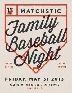 Family Baseball Night by Jonathan Lawrence on Inspirationde