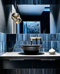 Bathroom Tiles & Color Trends on Inspirationde