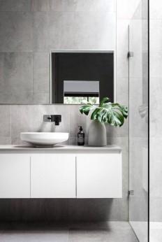 Bathroom Goals: Amazing Minimal Bathrooms on Inspirationde