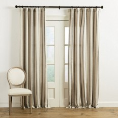 Tatem Thin Striped Sheer Panel | Ballard Designs