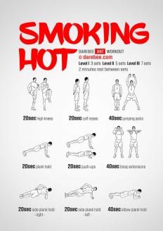 Smoking Hot Workout on Inspirationde