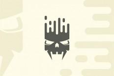 Equalizer Skull Logo on Inspirationde