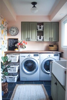 One Room Challenge: Laundry Room (Week 6 Final Reveal!) on Inspirationde