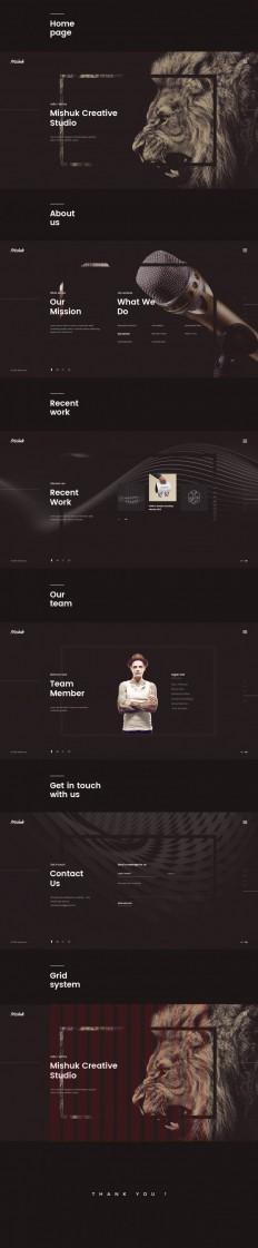 Mishuk – Creative Studio on Inspirationde