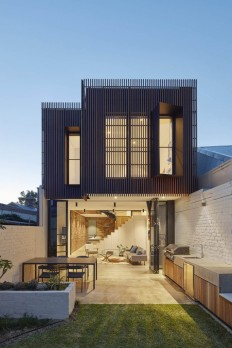 Fitzroy North House by MMAD Architecture on Inspirationde