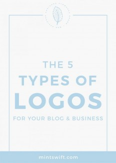 The 5 Types of Logos for Your Blog & Business on Inspirationde