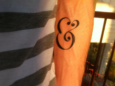 Ampersand Tattoo by Sean McCabe on Inspirationde