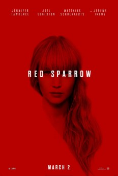 Red Sparrow Movie Poster on Inspirationde