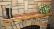 Kettle Moraine Fireplace Mantel Natural Shelf & Reviews | Wayfair