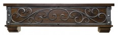 Ornamental Designs Symphony Fireplace Shelf Mantel & Reviews | Wayfair