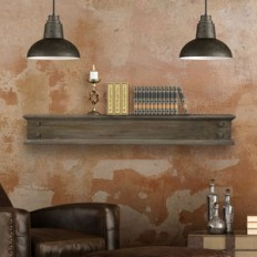 Lance - Wood Mantel Shelves - Fireplace Mantel Shelf - Floating Mantel Shelf - MantelsDirect.com