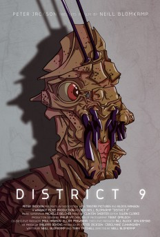 District 9 poster by juhaszmark on Inspirationde