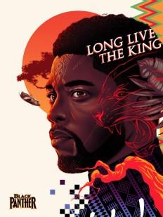 Black Panther – Poster Design on Inspirationde