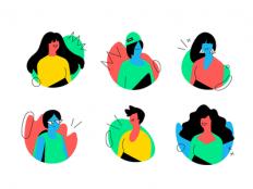 Avatars by Paula Cruz - Dribbble