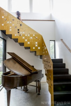 Laser cut Staircase on Inspirationde