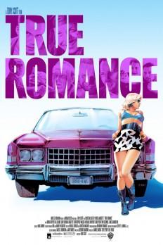 True Romance Screen Print on Inspirationde