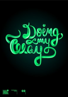 Doing My way – Lettering on Inspirationde