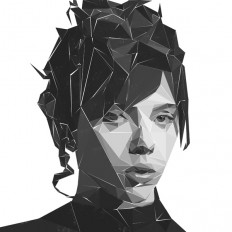 Polygon Portraits by Chris Drinkwater on Inspirationde