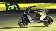 Husqvarna Electric MotoScooter on