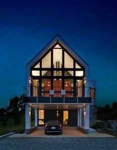 Modern Farmhouse Retreat in a Rural Hamlet, Virginia on Inspirationde