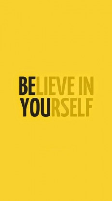 BE YOU – muster the courage to believe in yourself. on Inspirationde