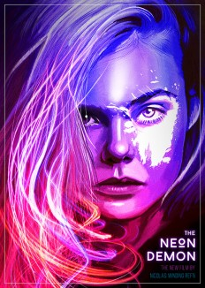 The Neon Demon Poster – Illustration and Graphic Design on Inspirationde