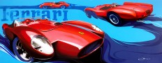 Canson and Redesign of Ferrari 250 TR on