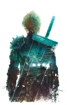 [FFVII] The beginning… by vtas on DeviantArt on Inspirationde