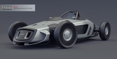 Audi Grand Prix Union Reborn | Yanko Design