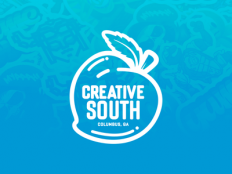 Slap! Stickers | See You at Creative South '16! by Rocky Roark - Dribbble
