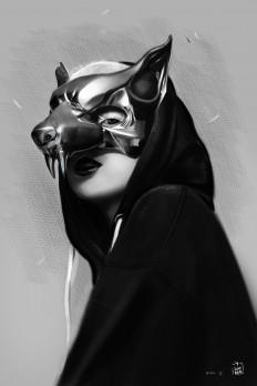 Yolandi Visser Illustration by vurdeM on Inspirationde