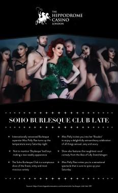 Hippodrome Casino — Soho Burlesque Club late