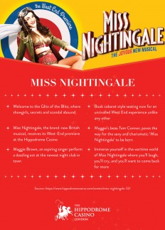 Hippodrome Casino — Miss Nightingale