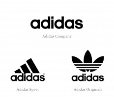 Brand New: New Logo and Identity for Adidas by EIGA