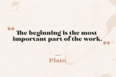 The Beginning is The Most Important Part of The Work on Inspirationde
