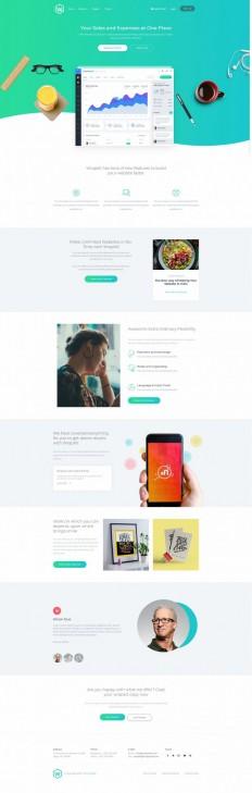 WrapKit – High-end Theme Toolkit on Inspirationde