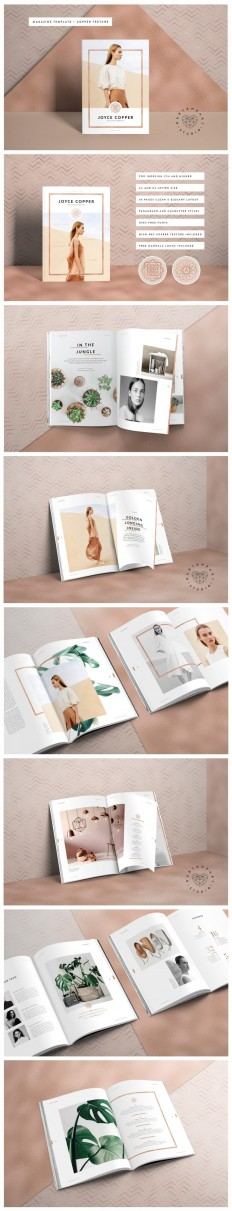 JOYCE Copper Magazine on Inspirationde