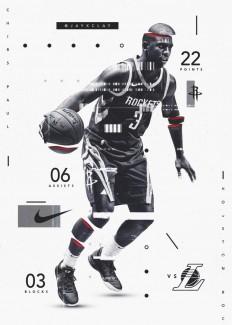 Glitch Designs (NFL x NBA) on Inspirationde
