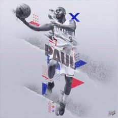 NBA Art Collection, Vol. 1 by Caroline Blanchet on Inspirationde