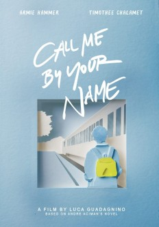 Call Me By Your Name alternative poster on Inspirationde