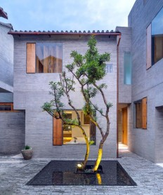 zhaoyang architects designed this boutique hotel as a hidden urban oasis in china on Inspirationde