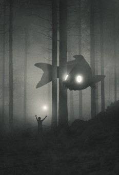 Explore Dawid Planeta's Mystical World of Bright-Eyed Animal Guides on Inspirationde