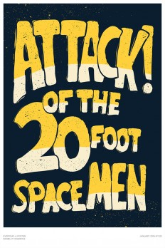 Attack! Of The 20 Foot Spacemen on Inspirationde